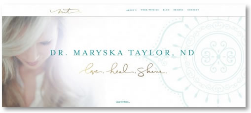 Atlanta WordPress Development Site: Dr. Maryska Taylor