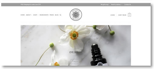 Atlanta E-Commerce Development: HollyBeth Organics